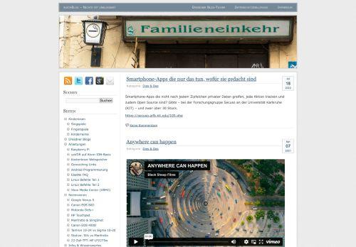 Screenshot blechBlog