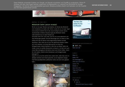Screenshot Colt C50 Blog