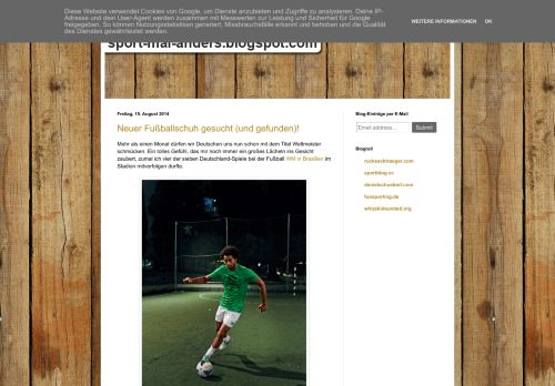 Screenshot Curious - Sport mal anders