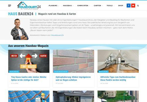 Screenshot Darlehen Hauskauf