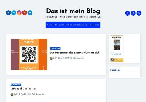 Screenshot Das ist mein Blog