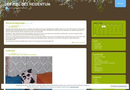 Screenshot Der Igel des Heidentum