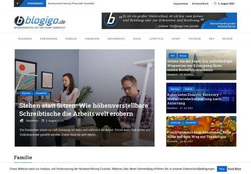 Screenshot Erlebnis Gutschein Portal