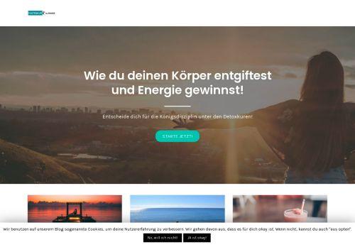 Screenshot fastenkur-zu-hause.com