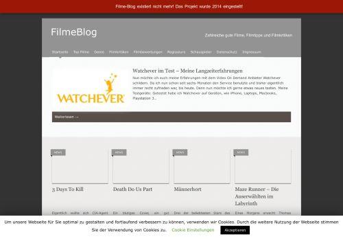 Screenshot Filme Blog