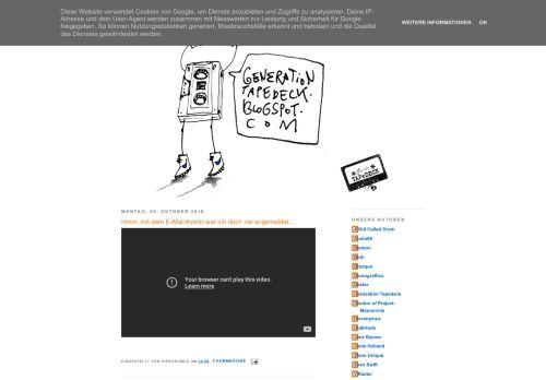 Screenshot Generation Tapedeck