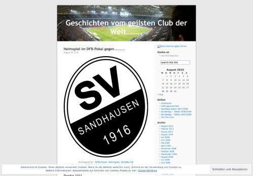 Screenshot Geschichten vom geilsten Club der Welt......