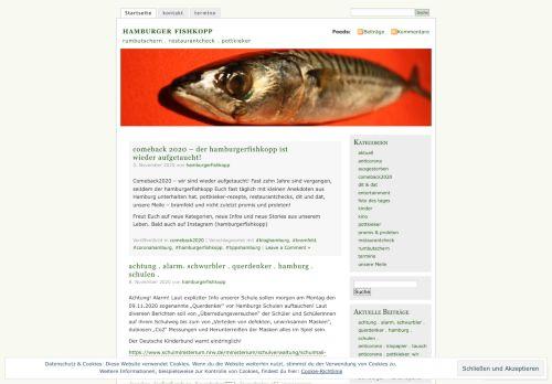 Screenshot Hamburger Fishkopp Magazin