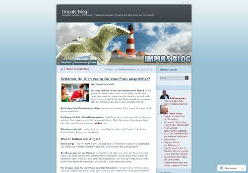 Screenshot Impuls Blog