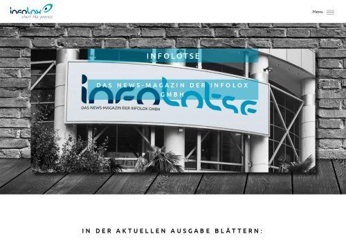 Screenshot infolotse der Katalogerstellung im Crossmedia-Publ