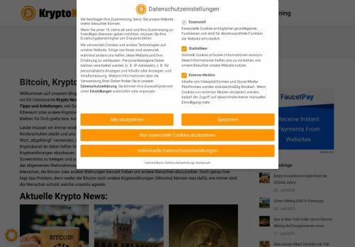Screenshot Kryptokanal.de