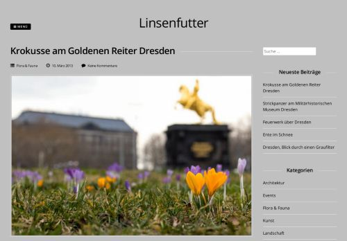 Screenshot linsenfutter