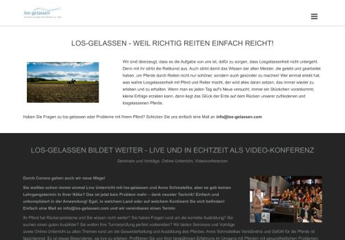 Screenshot Los-Gelassen