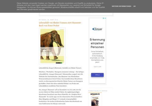 Screenshot Mammut-Zeitung