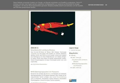 Screenshot Medien und Technik