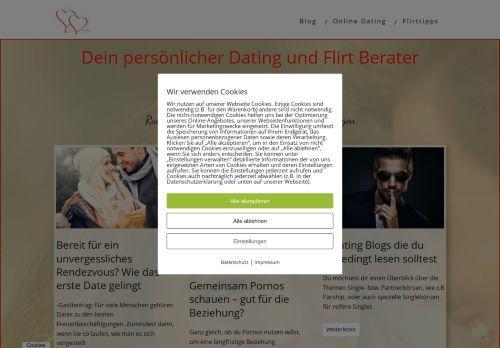 Screenshot Online Dating Ratgeber