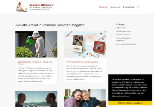 Screenshot Senioren-Blog.info