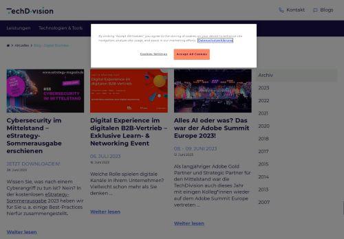 Screenshot SEO- und Internet-News