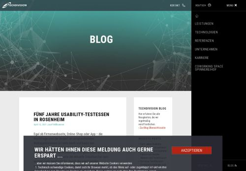 Screenshot SEO- und Internet-News