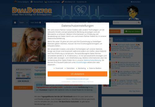 Screenshot SparBlog - Da spart sogar das Sparschwein!