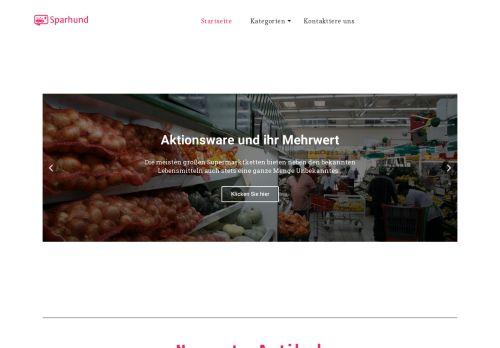 Screenshot Sparen und Rabatte